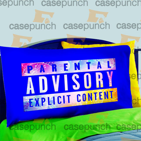 Mz6-parental Advisory Explicit Content Dope Pillow Case For Bed Bedding