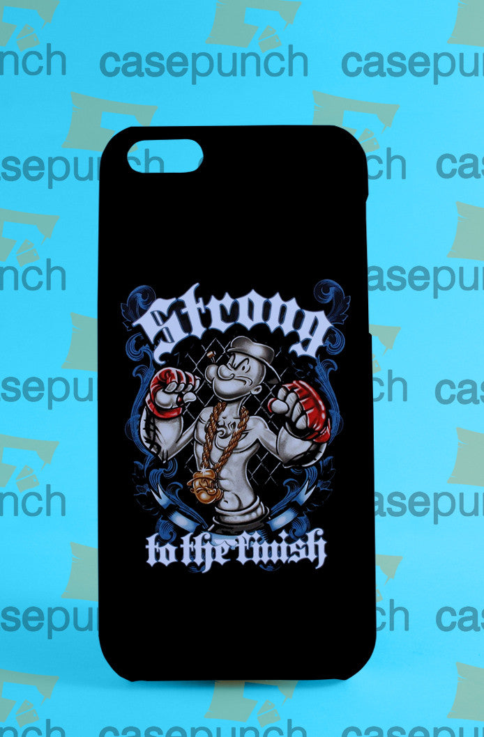 Mz4-popeye Boxing Funny Cartoon For Iphone 6 6 Plus 5 5s Galaxy S6 S5 S5 Mini S4 & Other Smartphone Hard Back Case Cover