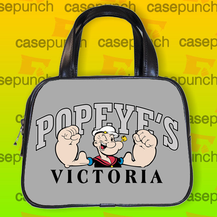 An5-popeye Boxing Funny Cartoon Handbag Purse Woman Bag Classic