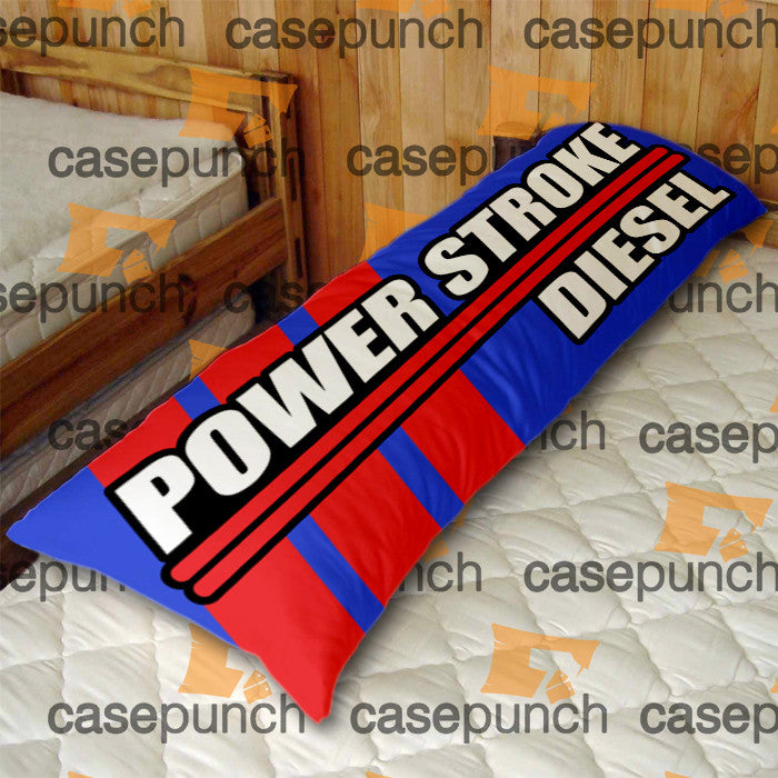 An2-powerstroke Ford Truck Logo Body Pillow Case