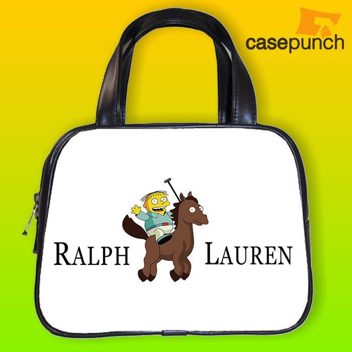 An1-ralph Lauren Simpsons Ralph Wiggum Handbag Purse Woman Bag Classic
