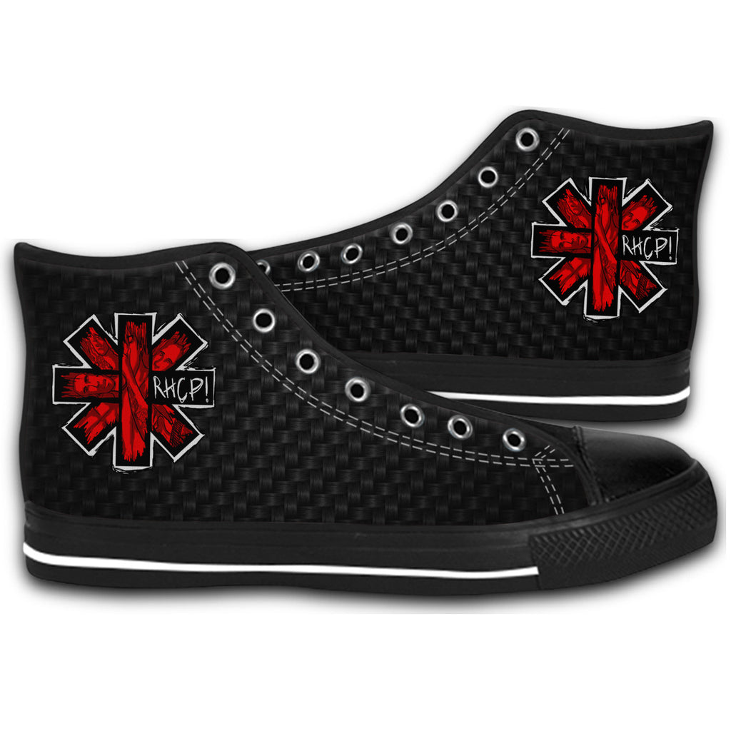 f440b0246d5def Red Hot Chili Peppers Band Canvas Style Shoes Fashion Sneakers ...