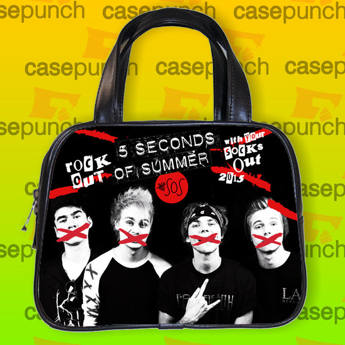 An1-rock Out With Your Socks Out Tour 5 Sos  Handbag Purse Woman Bag Classic