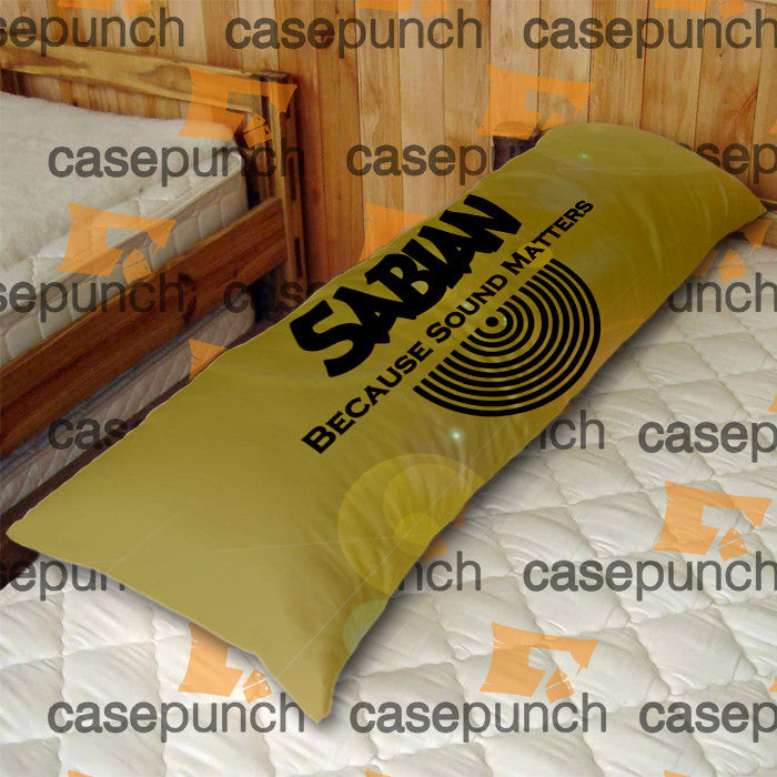 An1-sabian Because Sound Matters Body Pillow Case