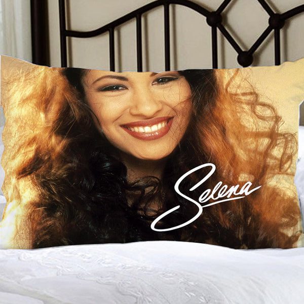 SELENA QUINTANILLA Pillow Case For Bed Bedding