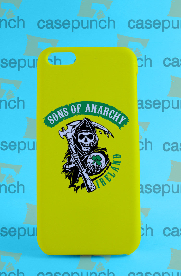 Mz3-sons Of Anarchy Soa Samcro Logo For Iphone 6 6 Plus 5 5s Galaxy S5 S5 Mini S4 & Other Smartphone Hard Back Case Cover