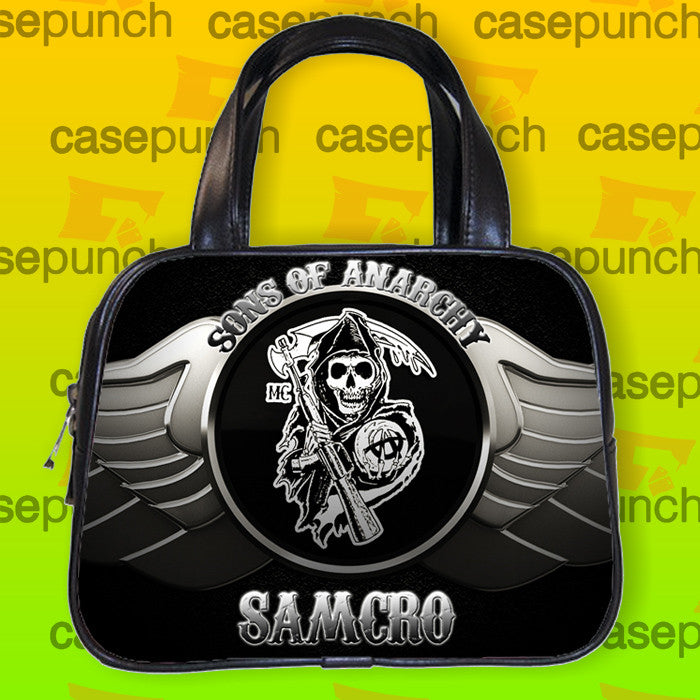 An4-sons Of Anarchy Soa Samcro Logo Handbag Purse Woman Bag Classic