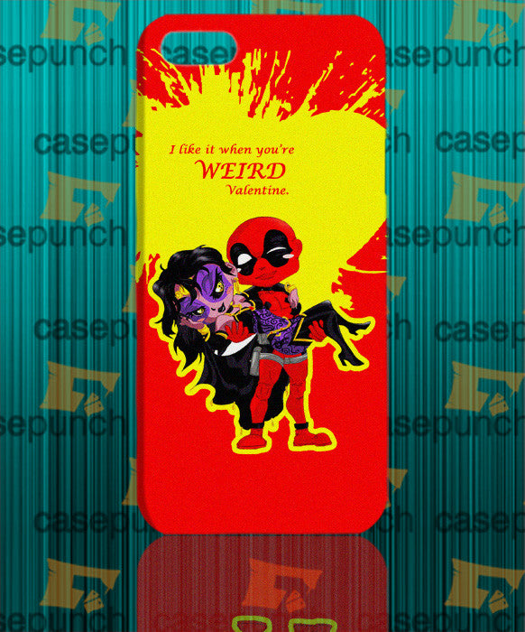 Mz2-spiderman Hearts Deadpool In Valentine For Iphone 6 6 Plus 5 5s Galaxy S5 S5 Mini S4 & Other Smartphone Hard Back Case Cover