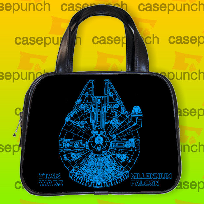 An1-star Wars Millennium Falcon Glow Handbag Purse Woman Bag Classic