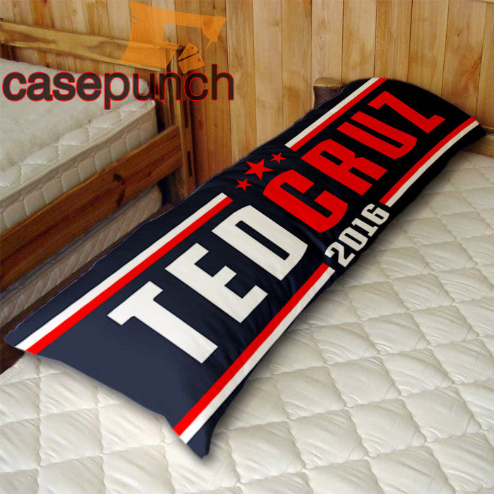 An1-ted Cruz 2016 For President Body Pillow Case