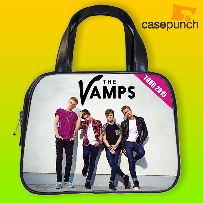 An1-the Vamps Tour 2015 Band Handbag Purse Woman Bag Classic