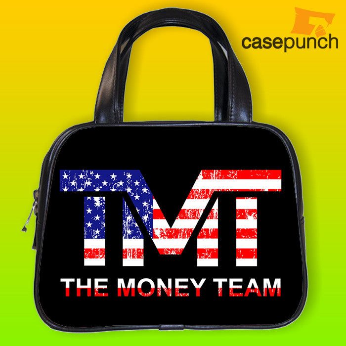 An1-tmt The Money Team Manny Pacquiao Handbag Purse Woman Bag Classic
