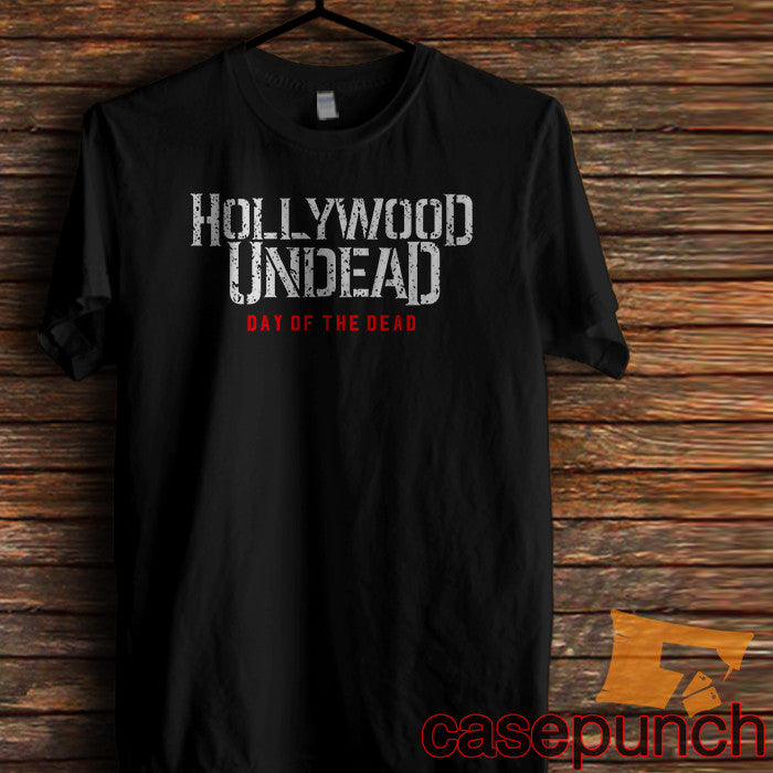 e285a2f659900 Sr2-day Of The Dead Hollywood Undead T-shirt (longsleeve Crop Top Tank