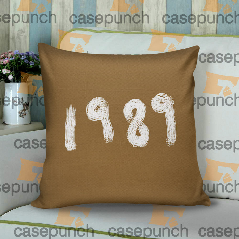 Sr4-taylor Swift The 1989 World Tour Cushion Pillow Case