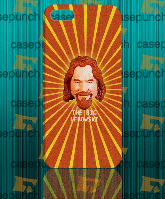 Mz4-the Big Lebowski Vitruvian Dude For Iphone 6 6 Plus 5 5s Galaxy S5 S5 Mini S4 & Other Smartphone Hard Back Case Cover