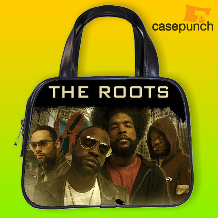 An1-the Roots Questlove Black Thought Handbag Purse Woman Bag Classic