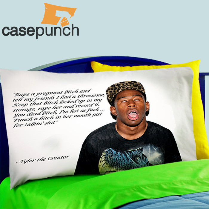 mz4 tyler the creator funny graphics bed pillow case casepunch