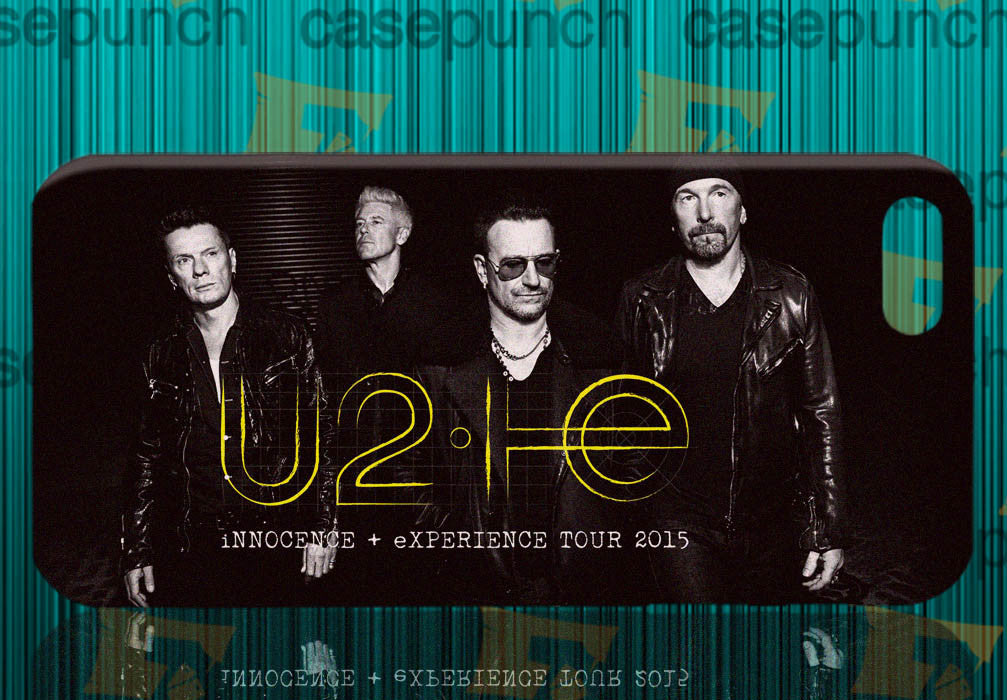 Mz2-u2 Innocence Experience Tour 2015 For Iphone 6 6 Plus 5 5s Galaxy S5 S5 Mini S4 & Other Smartphone Hard Back Case Cover