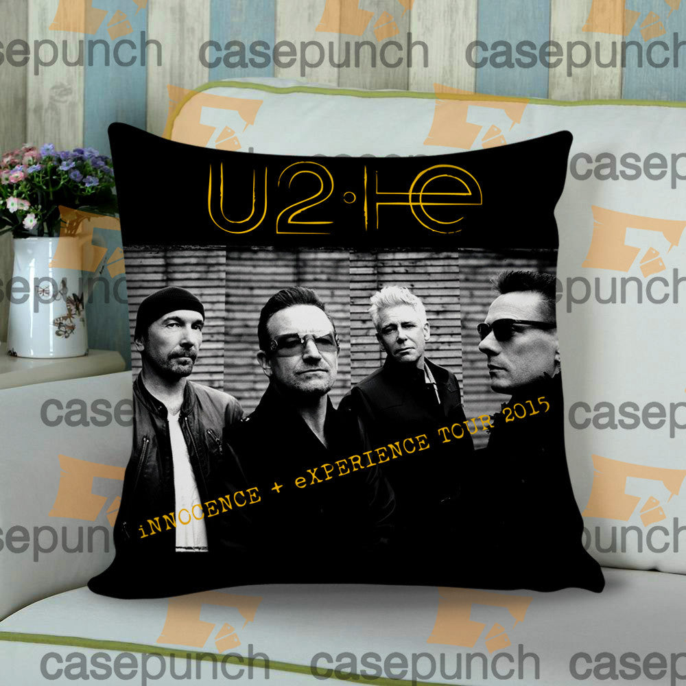 Sr2-u2 Innocence Experience Tour 2015 Cushion Pillow Case