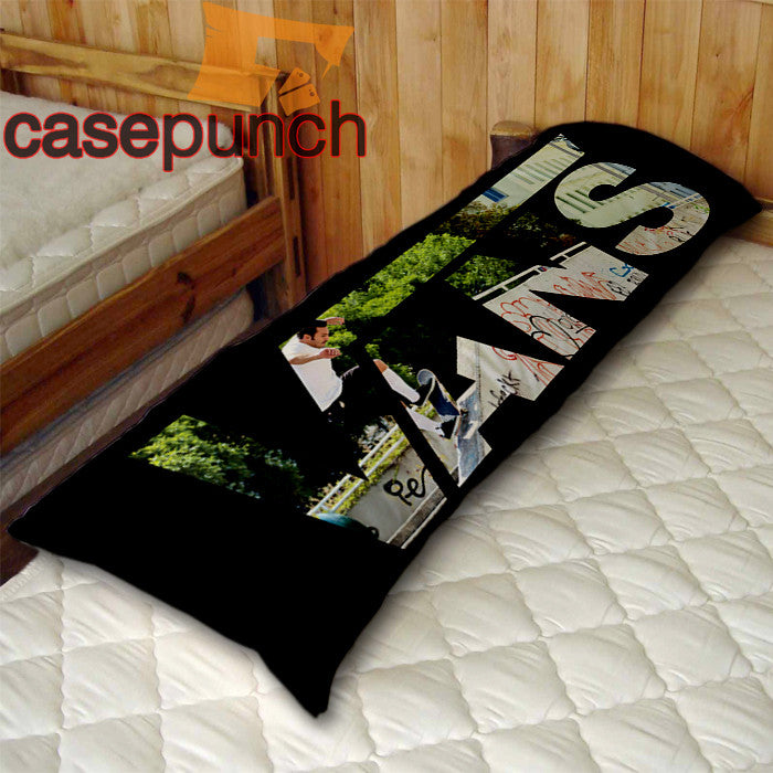 An1-vans Classic Logo Skateboard Body Pillow Case