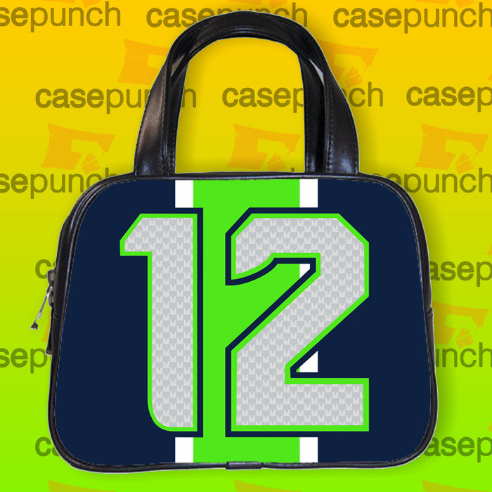 An1-we Are The 12th Man Seattle Seahawks Handbag Purse Woman Bag Classic