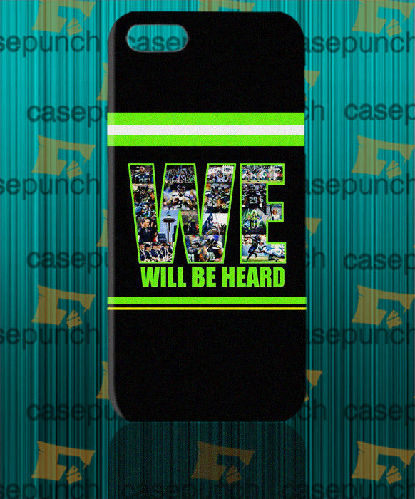 Mz2-we Are The 12th Man Seattle Seahawks For Iphone 6 6 Plus 5 5s Galaxy S5 S5 Mini S4 & Other Smartphone Hard Back Case Cover
