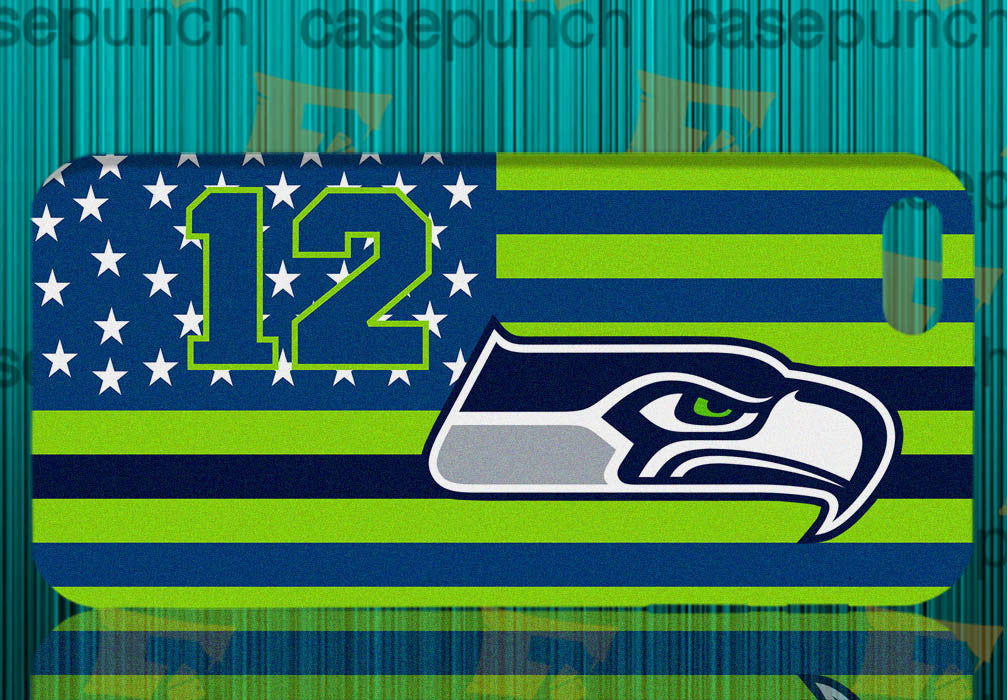 Mz6-we Are The 12th Man Seattle Seahawks For Iphone 6 6 Plus 5 5s Galaxy S5 S5 Mini S4 & Other Smartphone Hard Back Case Cover