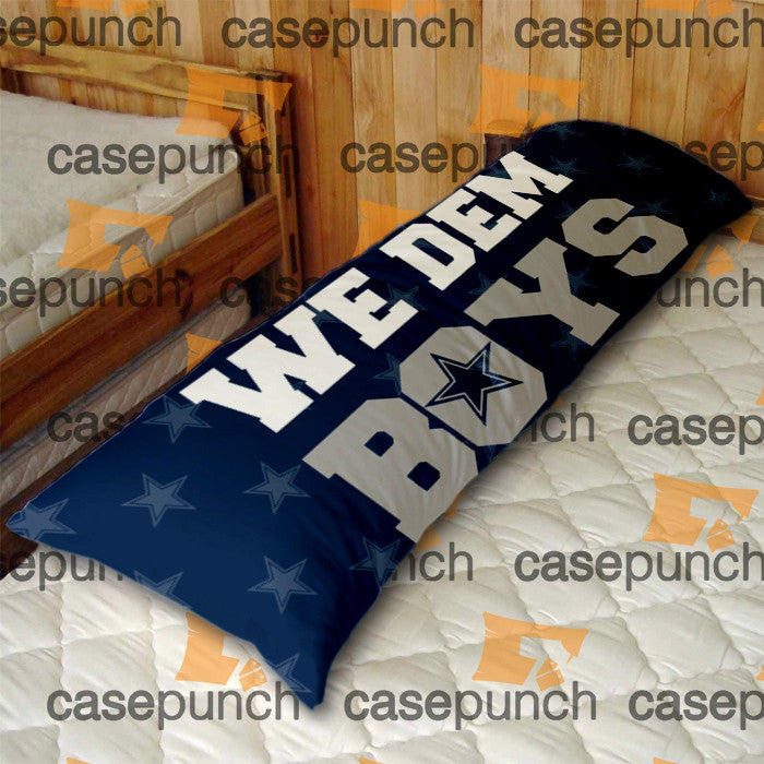 An1-we Dem Boys Dallas Cowboys Body Pillow Case