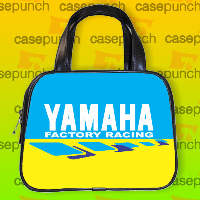 An1-yamaha Factory Racing Logo Handbag Purse Woman Bag Classic
