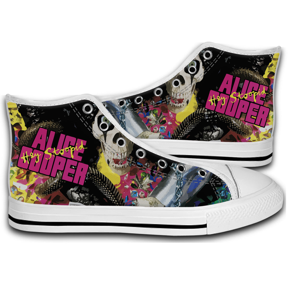 alice cooper hey stoopid Canvas Style Shoes Fashion Sneakers