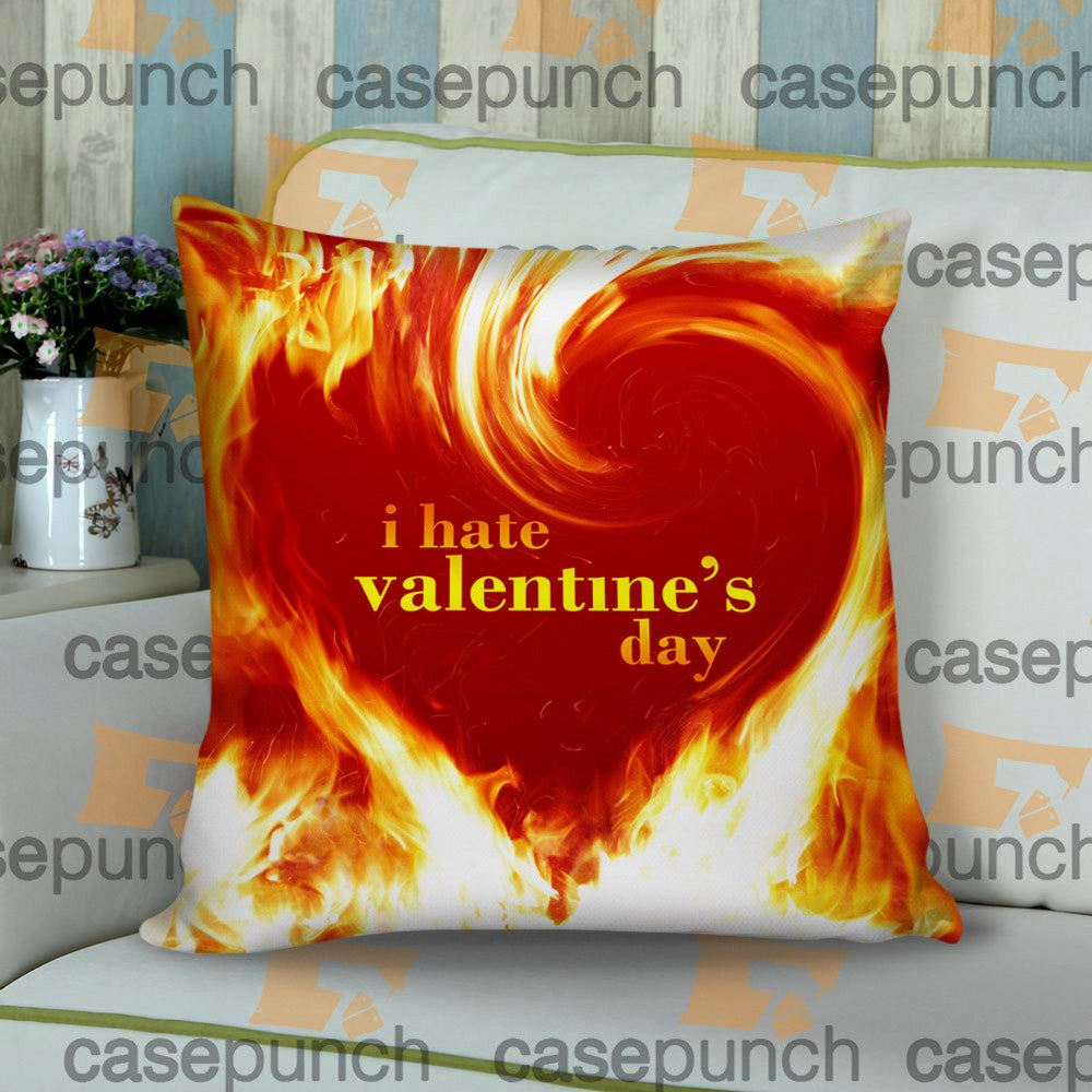 Sr3-anti Valentine Valentine's Day Cushion Pillow Case