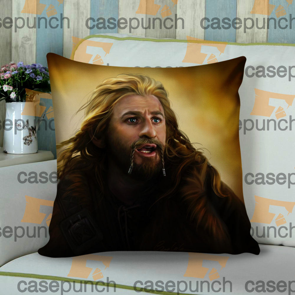 Sr1-fili The Dwarf The Hobbit Cushion Pillow Case