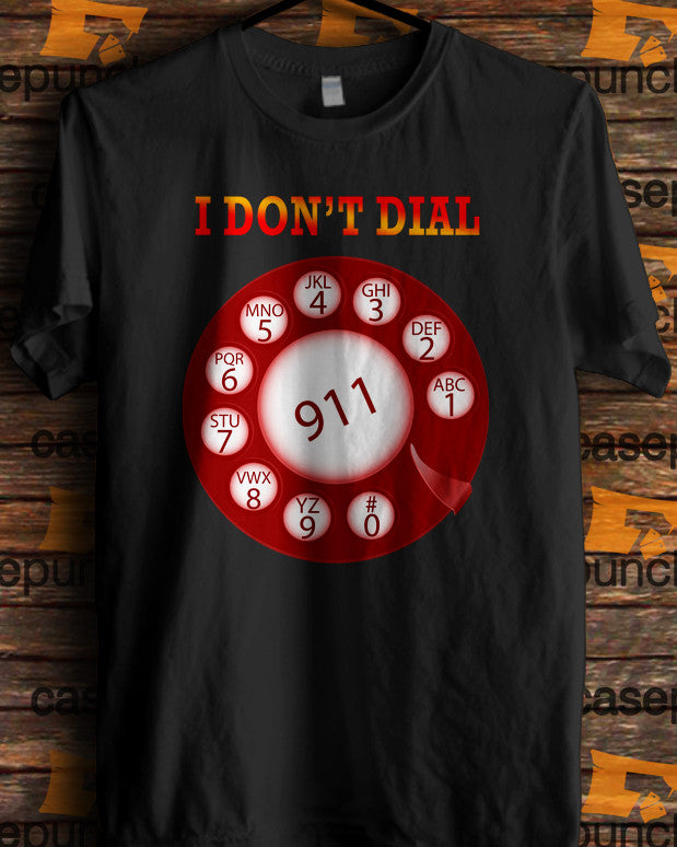 Sr3-funny Pro Gun I Don't Dial 911 (longsleeve Crop Top Tank Top & Hoodie Available)