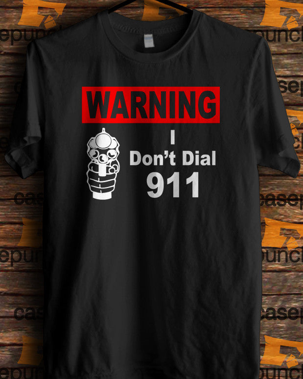 Sr6-funny Pro Gun I Don't Dial 911 (longsleeve Crop Top Tank Top & Hoodie Available)