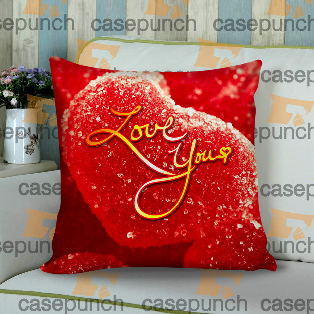 Sr1-heart For Valentine's Day Gift Cushion Pillow Case