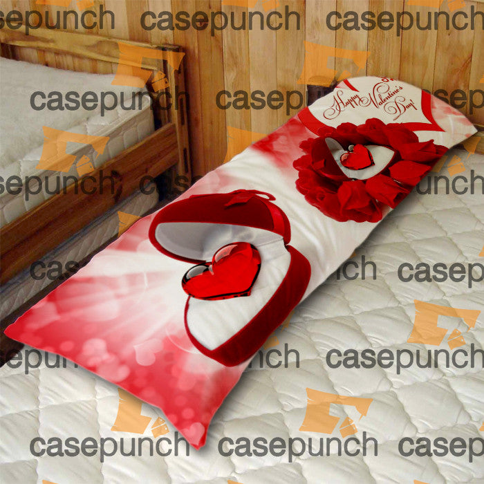 An4-heart For Valentine's Day Gift Body Pillow Case