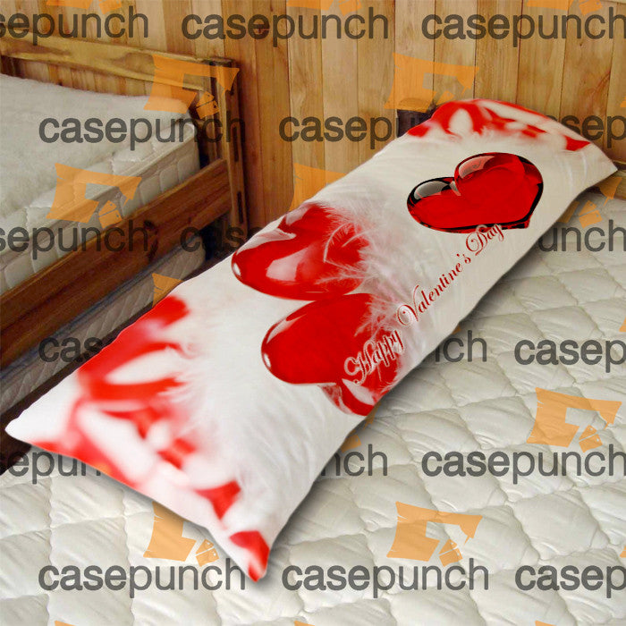 An5-heart For Valentine's Day Gift Body Pillow Case