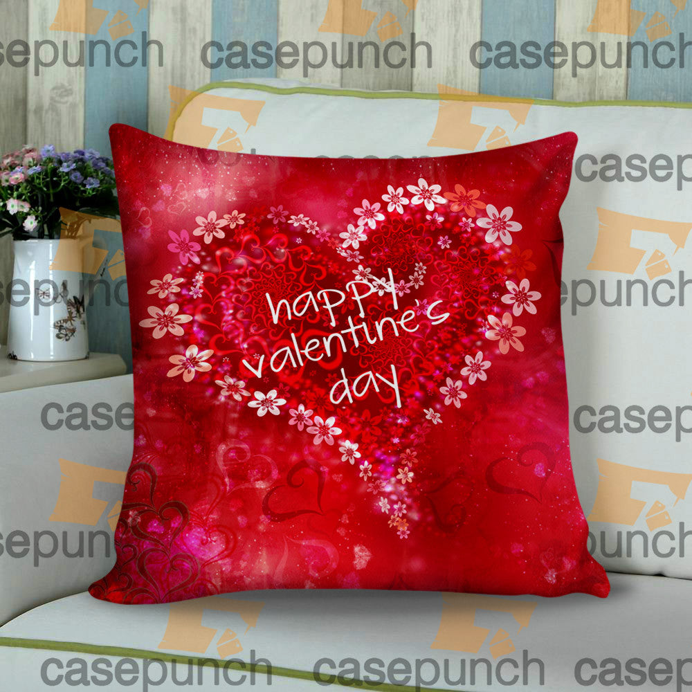 Sr6-heart For Valentine's Day Gift Cushion Pillow Case