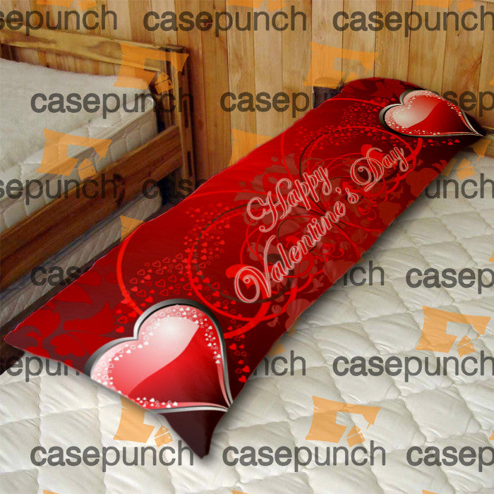 An7-heart For Valentine's Day Gift Body Pillow Case
