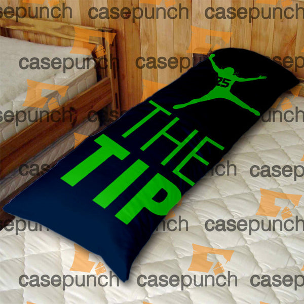 An1-just The Tip Richard Sherman Body Pillow Case