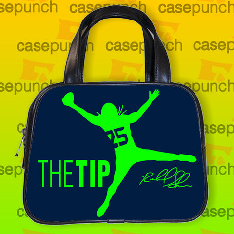 An1-just The Tip Richard Sherman Handbag Purse Woman Bag Classic