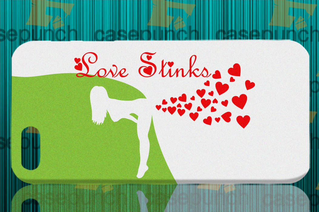 Mz1-love Stinks Funny Valentine's Day For Iphone 6 6 Plus 5 5s Galaxy S5 S5 Mini S4 & Other Smartphone Hard Back Case Cover