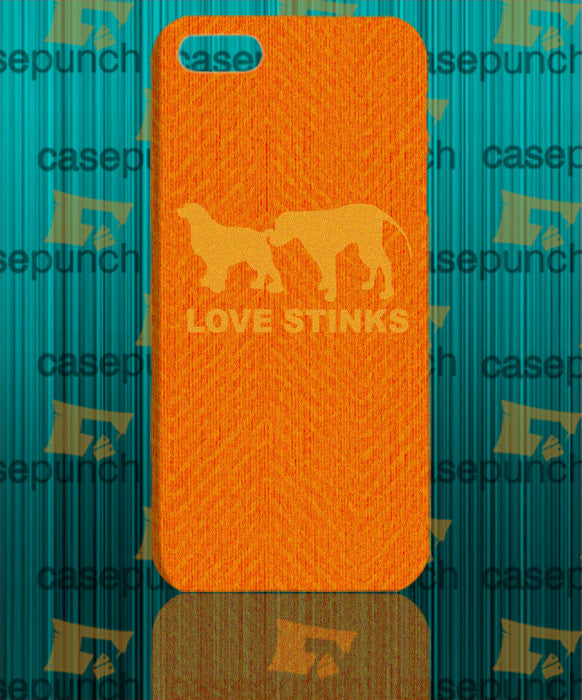 Mz4-love Stinks Funny Valentine's Day For Iphone 6 6 Plus 5 5s Galaxy S5 S5 Mini S4 & Other Smartphone Hard Back Case Cover
