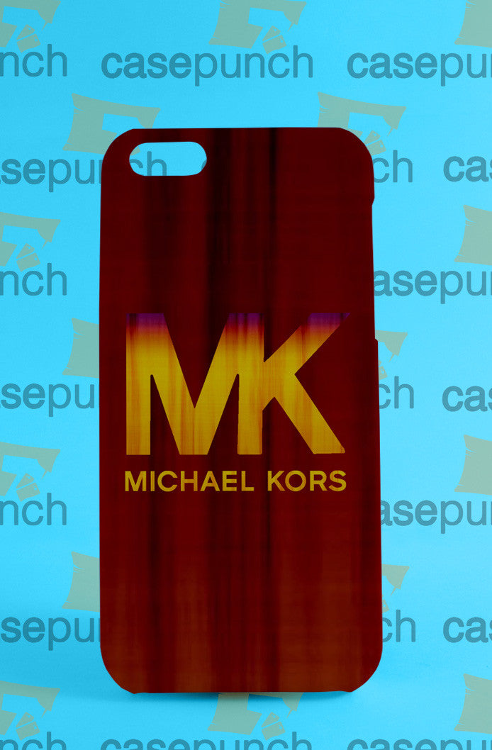 Mz4-michael Kors Mk Logo For Iphone 6 6 Plus 5 5s Galaxy S5 S5 Mini S4 & Other Smartphone Hard Back Case Cover