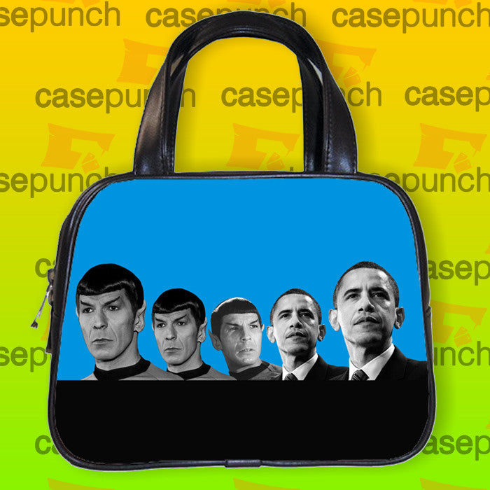 An1-obama Mr Spock Evolution Handbag Purse Woman Bag Classic
