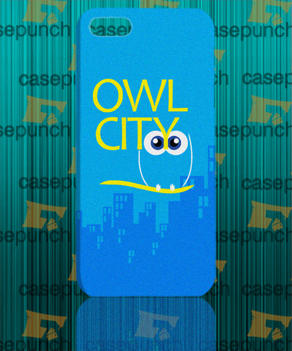 Mz1-owl City Music Group Logo For Iphone 6 6 Plus 5 5s Galaxy S5 S5 Mini S4 & Other Smartphone Hard Back Case Cover
