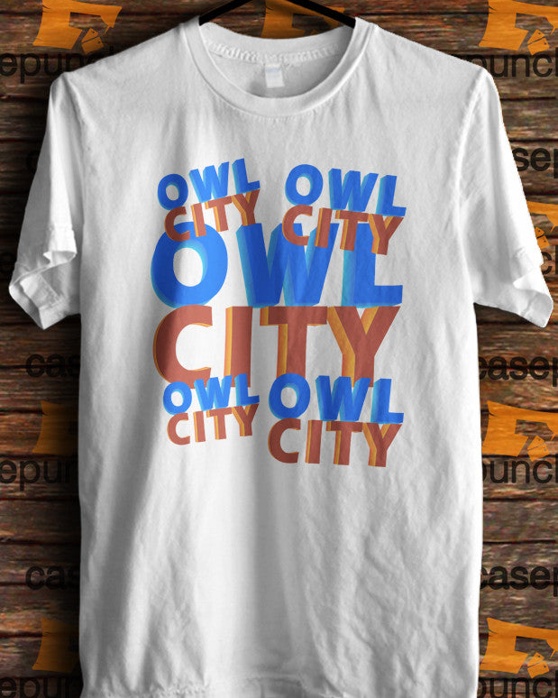Sr1-owl City Music Group Logo (longsleeve Crop Top Tank Top & Hoodie Available)