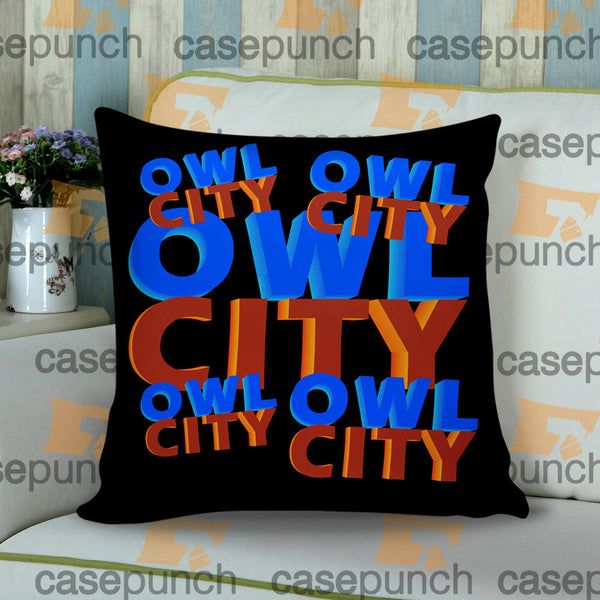 a2b34bcdcaed5c Sr1-owl City Music Group Logo Cushion Pillow Case