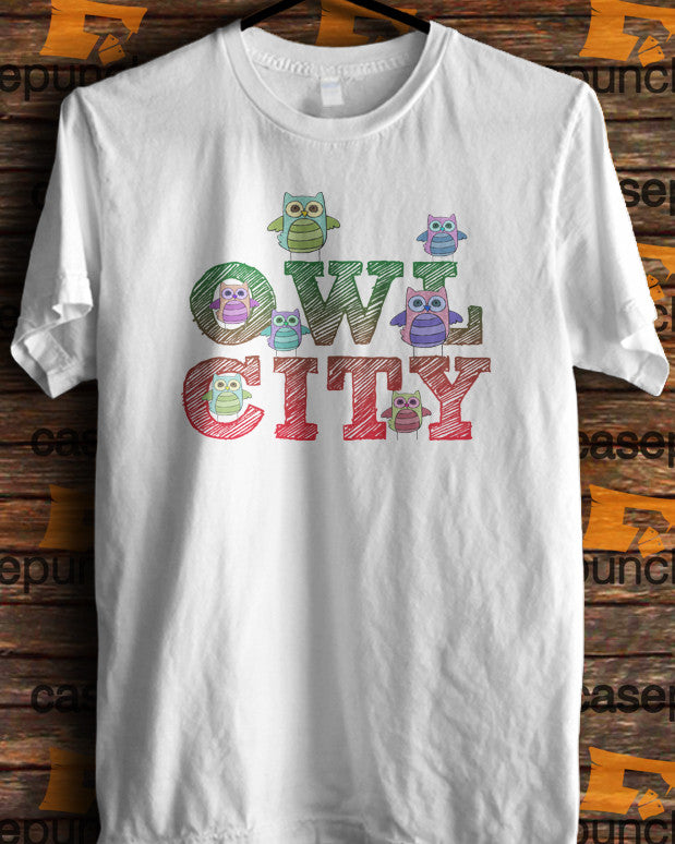 Sr3-owl City Music Group Logo (longsleeve Crop Top Tank Top & Hoodie Available)