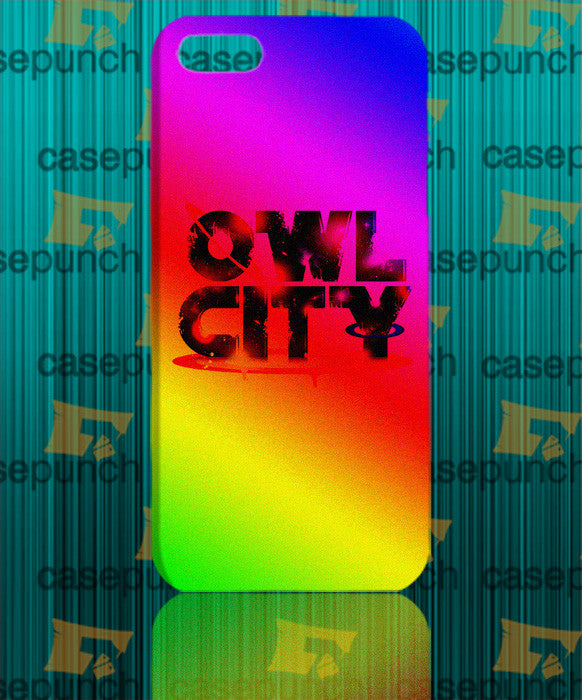 Mz4-owl City Music Group Logo For Iphone 6 6 Plus 5 5s Galaxy S5 S5 Mini S4 & Other Smartphone Hard Back Case Cover